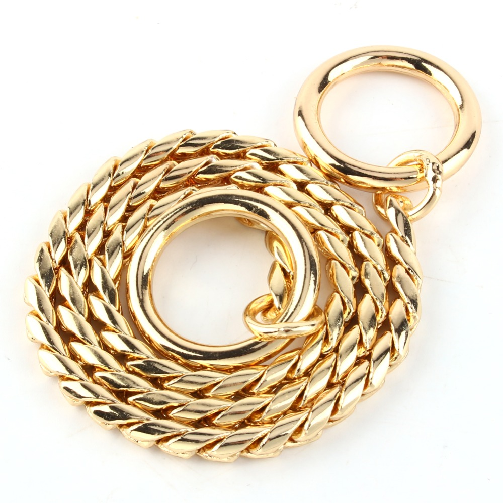 Hot Sale Modern Copper Chain Dog Show Collars Stylish Dog P Choke Training Necklace Good Quality