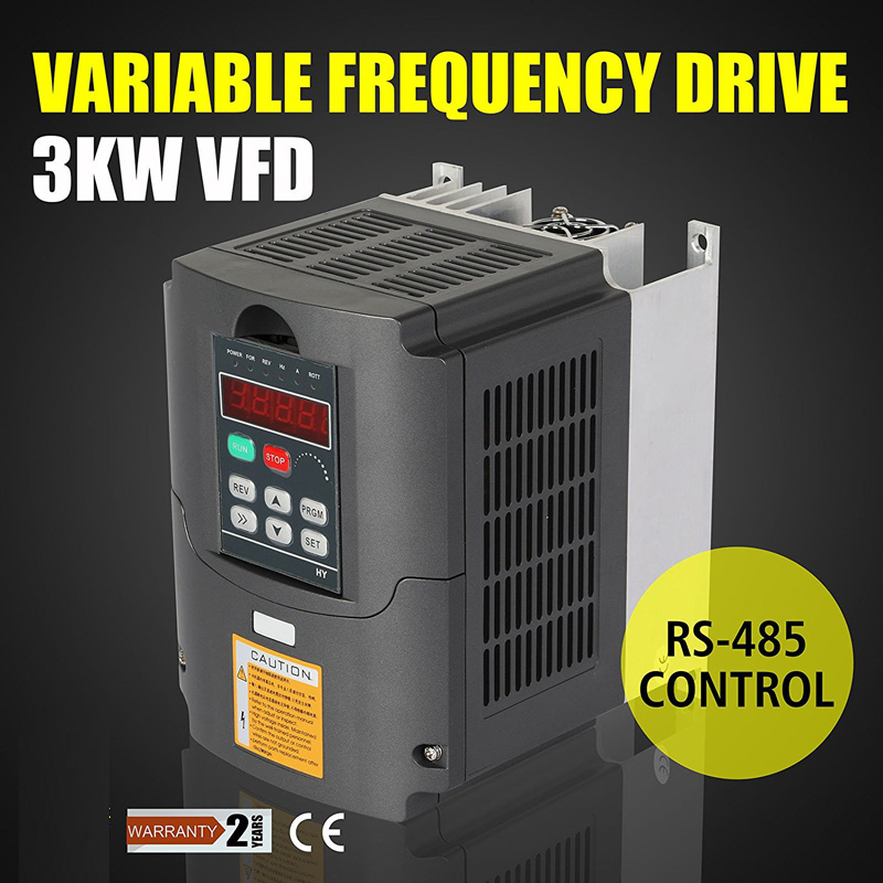 цена на Free Shipping 3KW 220V AC Variable Frequency Drive VFD Inverter for 3.0KW spindle 3000W vfd 3KW Inverter