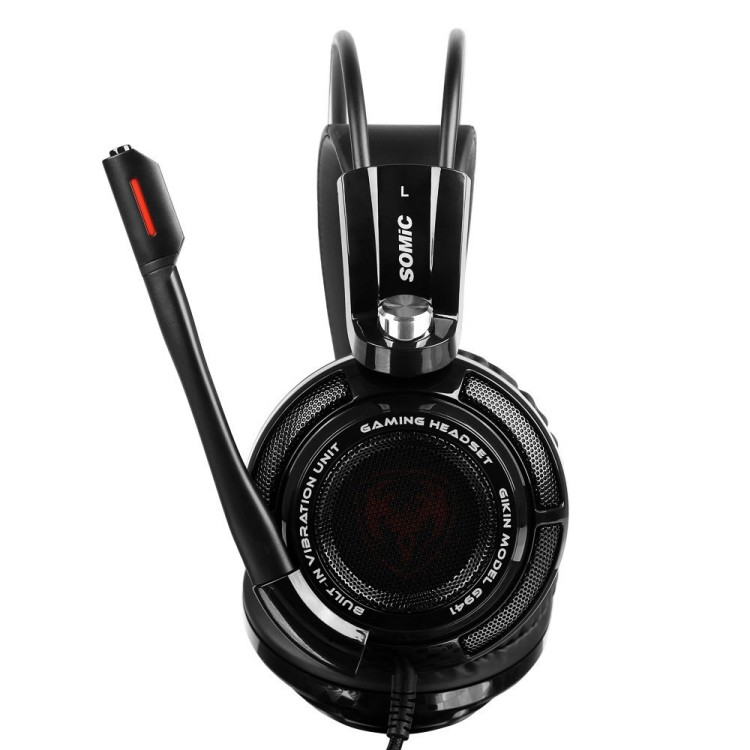 Pro Gaming Headphones With Microphone Somic G941 7.1 Surround Sound Effect   Sound USB Game Headset With Vibrating Function (9)