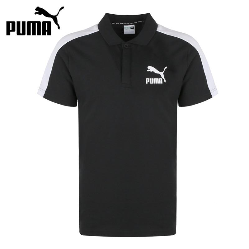 Original New Arrival  PUMA Iconic T7 Slim Polo Mens POLO  short sleeve SportswearOriginal New Arrival  PUMA Iconic T7 Slim Polo Mens POLO  short sleeve Sportswear