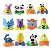 10pcs/lot Animal headdress Cartoon hat EVA animal hat party birthday Show children Preschool education Game show props