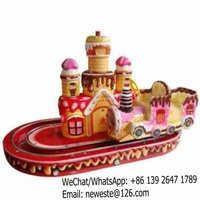 5pcs Indoor Kids Amusement Park Cake Train Rides For Sale