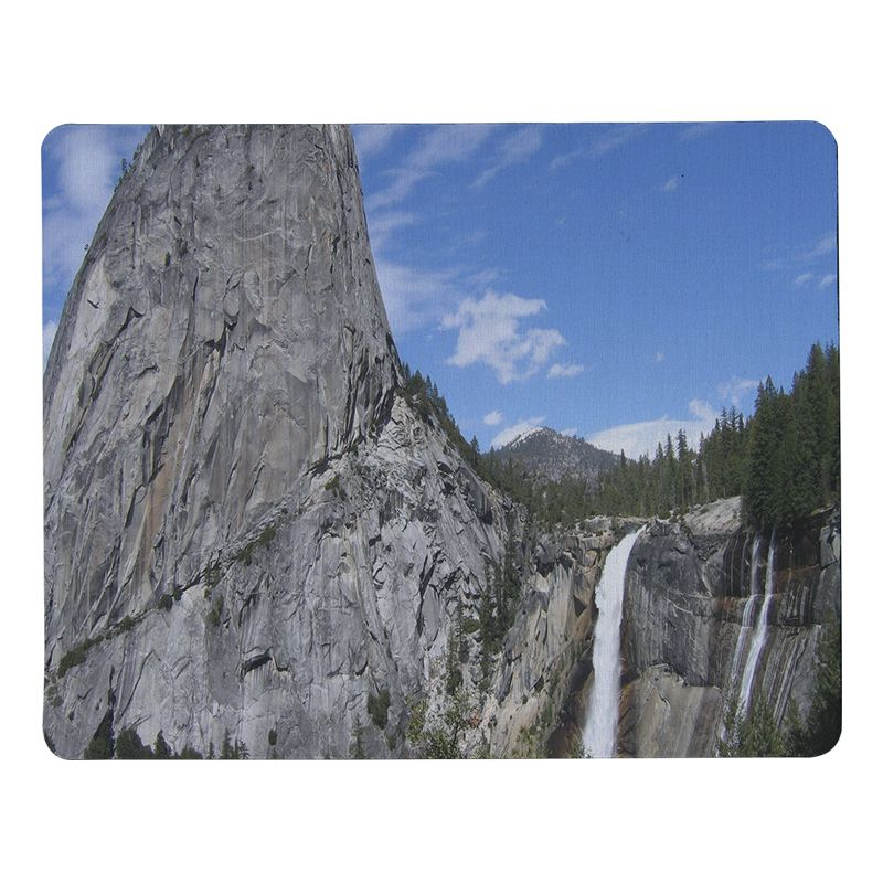 Babaite My Favorite Mount Waterfall Durable Rubber Mouse Mat Pad Size for 18x22cm 25x29cm Rubber Mousemats