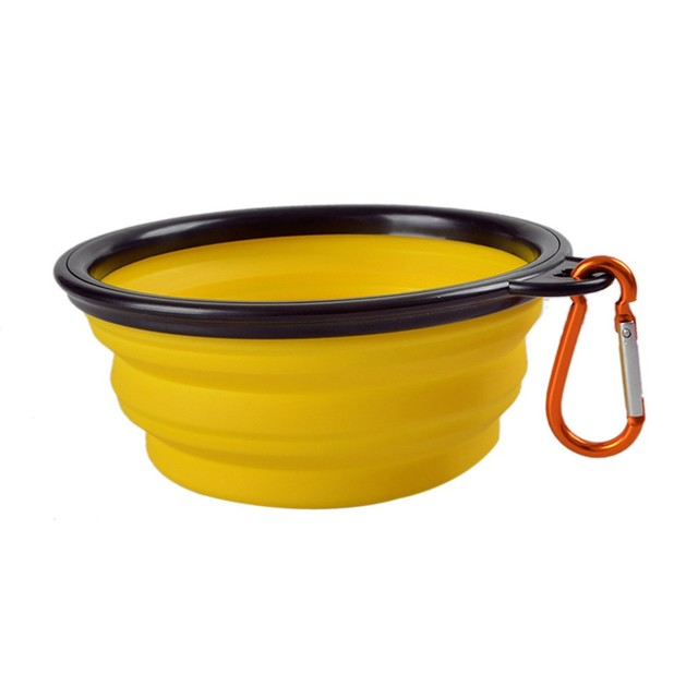 Travel Portable Multicolor Bowl for Pets