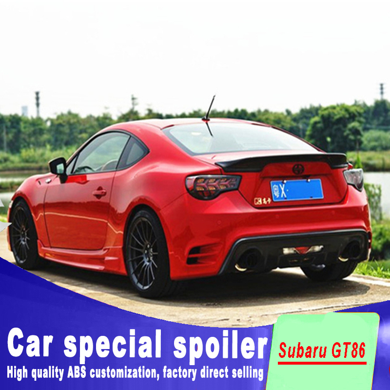 2013 2014 20152016 2017 New design High quality ABS material GT 86 BRZ Rear Trunk wing spoiler For Subaru Toyota 86 GT86 spoiler2013 2014 20152016 2017 New design High quality ABS material GT 86 BRZ Rear Trunk wing spoiler For Subaru Toyota 86 GT86 spoiler