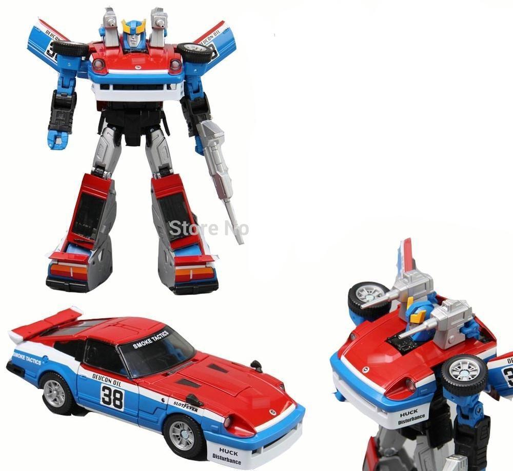 TKR Transformation MP19 MP 19 Smokescreen MP MasterPiece KO Action Figure Collection Robot Toys