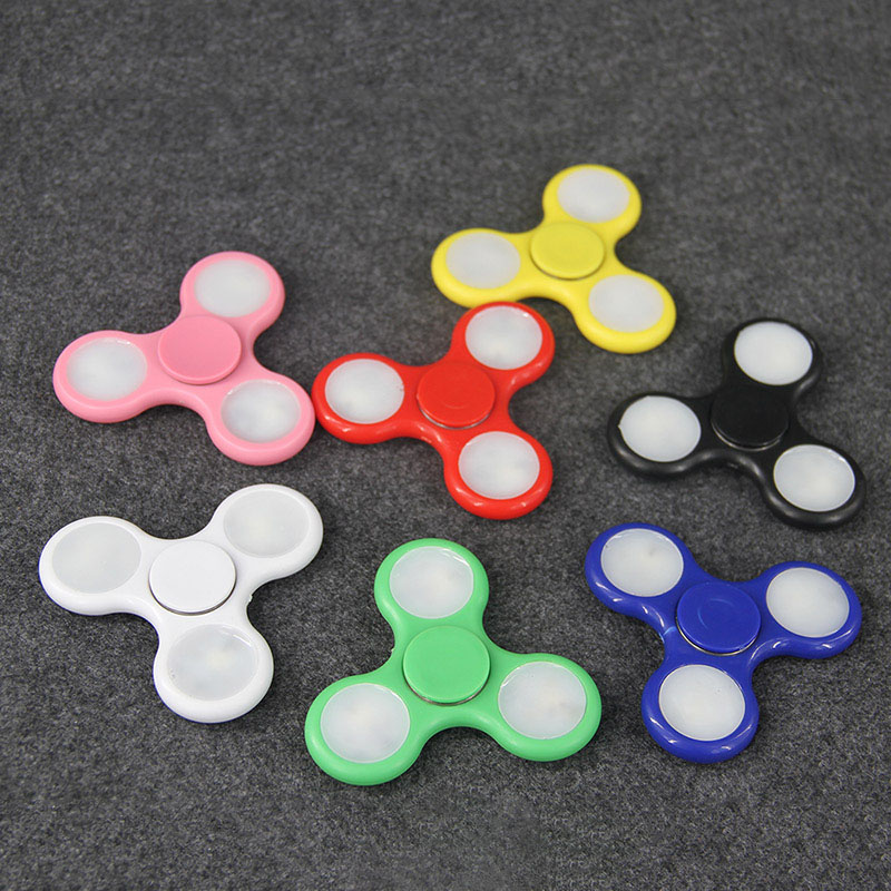 7-Colors-LED-Light-Hand-Spinner-Fidget-Gyroscope-Plastic-EDC-Hand-Spinning-Toys-Anti-Stress-ADHD