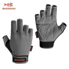 Bassdash Astro сверхпрочные перчатки для рыбалки, мужские женские перчатки без пальцев для игры, рыбалки, каякинга, гребли, парусный спорт