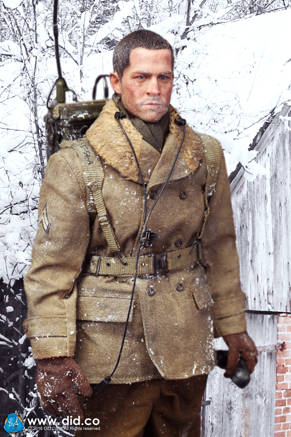 цена на 1/6 military figure US Army 29th Infantry Division Radio Operator Paul 12