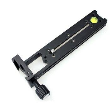 Multi-Purpose FVR-200 Vertical Nodal Slider Clamp Rail for Panorama Macro Arca RRS SUNWAYFOTO Compatible
