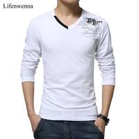 T Shirt Men Long Sleeve New Fashion 2016 Print Spring Men S Brand Clothing Casual Slim