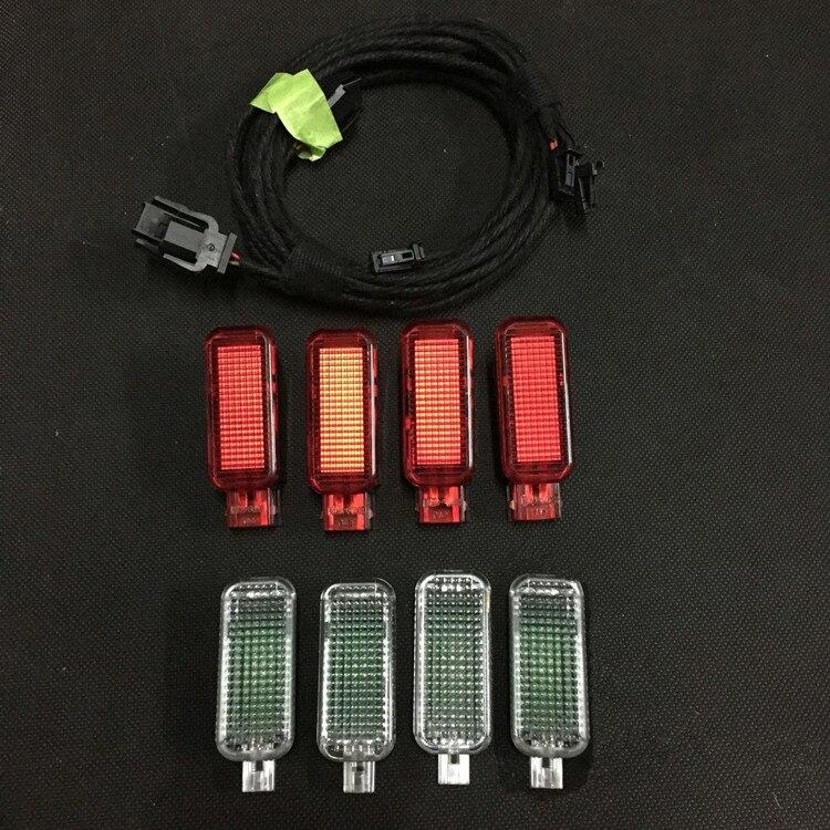 For Audi A3 8V A4 B9 Q3 Door Light 1 Set
