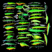 Balıkçılık Yumuşak Yeni Minnow/Krank/VIB/Popper