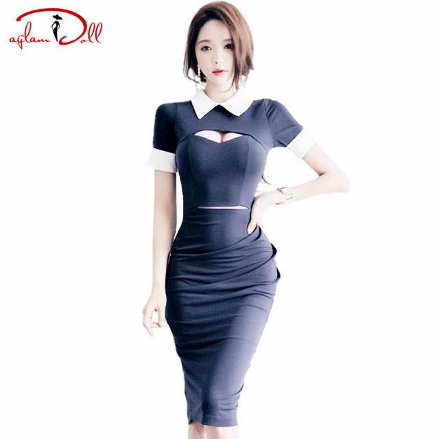 Aliexpress.com : Buy (NO SIZE S,L) OL Professional Work Dress ...
