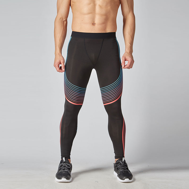 Compression Pants Tights Men Leggings Fitness Joggers Running Pants Workout Compression Tight Leggings Skinny Trousers