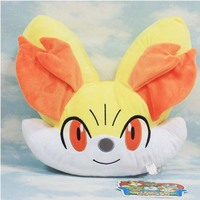 Digimon Adventure Plush Toys 32cm Fennekin Bolster Pocket Monster Doll Euro American Movie Plush Stuffed Toys