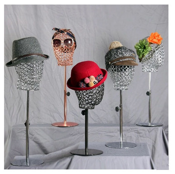 New Arrival High Quality Metal Head Mannequin Metal Head Model Fashionable On Sale