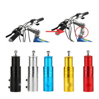 New Aluminum Alloy Bicycle Bike Handlebar Fork Stem Riser Up Extender Head Adapter Outdoor Bicycle Parts