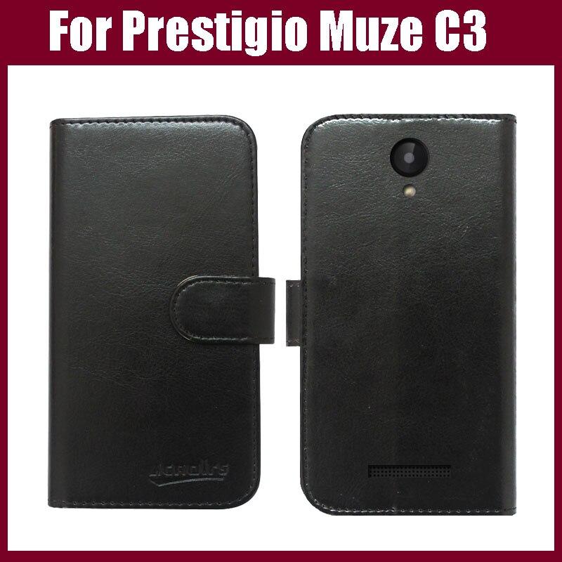 a8b23060bc1ef Prestigio Muze C3 Case New Arrival wysokiej jakości klapki skórzane  ekskluzywny telefon pokrywa etui do telefonu Prestigio Muze C3 przypadku