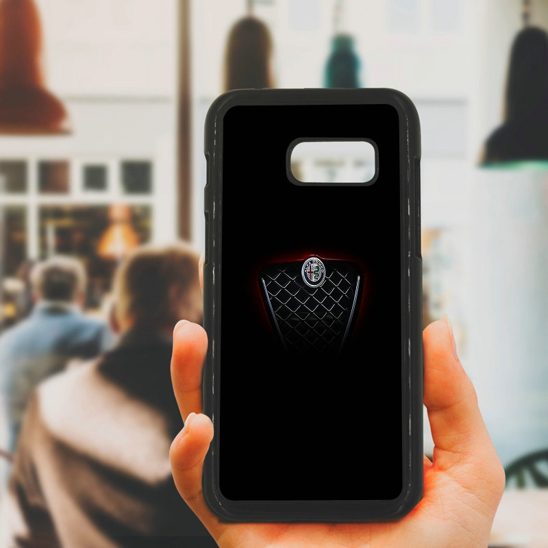 Cell Phone Case Super Car Alfa Romeo Logo Hard PC Plastic Cover for Samsung Galaxy A3 A5 A7 A8 2015 2016 2017 2018 Note 8 7 5 3