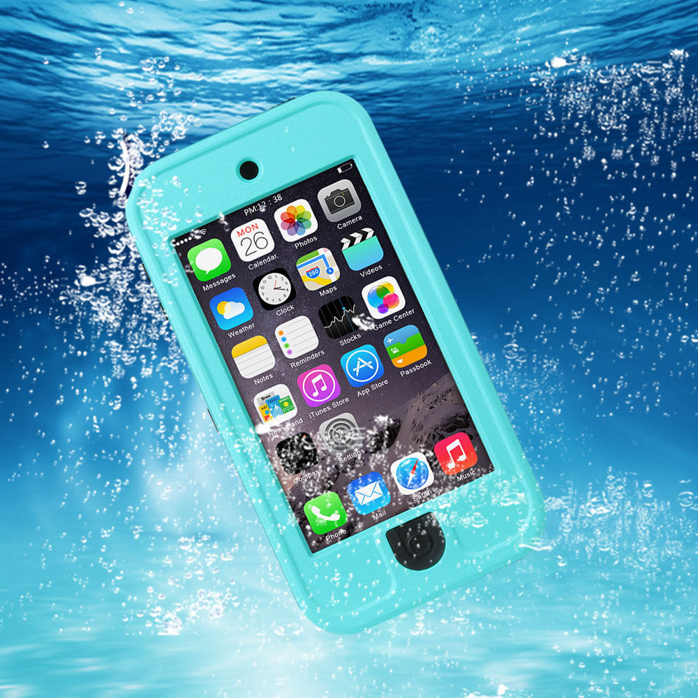 meet ac0ea daf2b US $18.52 |For Apple iPod Touch 5 Waterproof Phone Bags Original Swimming  Dive Water Dirt Shock Proof Cover Stand Diving New Case Man Lady-in Phone  ...