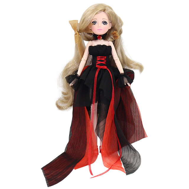 ICY blyth Xiaojing doll New Style Movable Joint Body Fashion High Quality Girls Plastic Classic Toys Best Gift bjd doll diy 3
