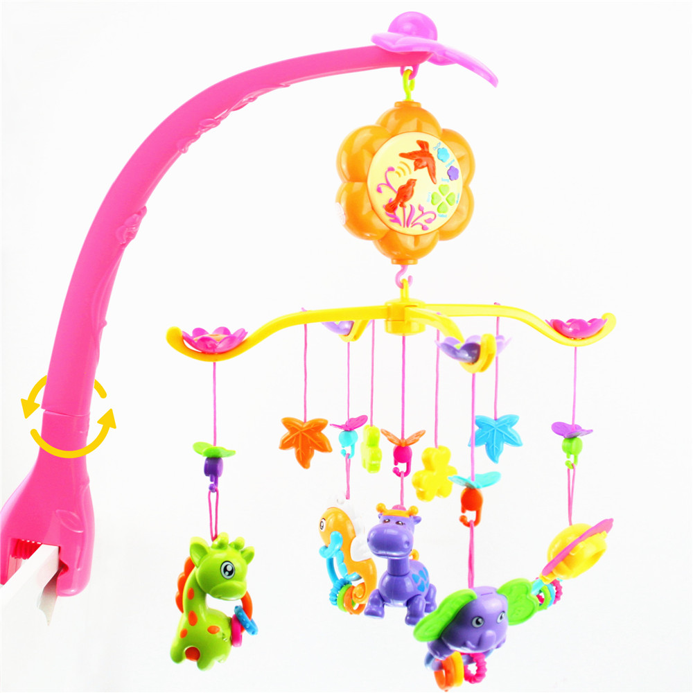 Newborn Baby Toys 6 24 Months Baby Mobile Light Educational Musical Toys For Baby Toddler Toys