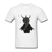 Crazy Cotton Men S Baphomet The Unholy Wanderer T Shirt Cool Low Pre Teenage Short Sleeve