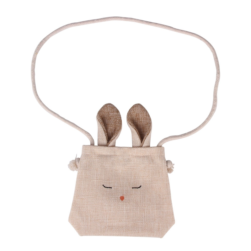 Cute Rabbit Girls Kids Small Bag Childrens Wallet Money Holder Lovely Kids Gift