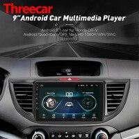 Android 8,1 четырехъядерный автомобильный Радио gps навигация головное устройство плеер для 2012 2015 Honda CRV 9 дюймов HD 1024*2019 600 Рождество