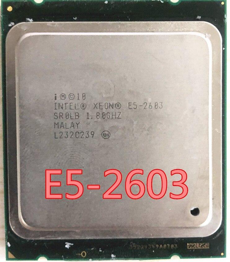 Giá Intel Xeon E5-2603 E5 2603 CPU processor 1.80GHZ FCLGA2011 80W 10MB Quad-Core E5 2603