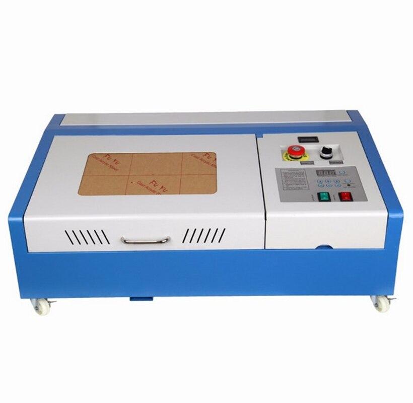 (A partir de UE e EUA Armazém) 40 W CO2 USB Laser Engraving Máquina De Corte Engraver Cortador de Madeira