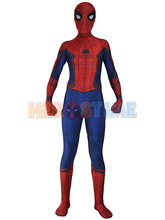 (LP6262)Civil War Spider-man 3D Shade Cosplay Suit Original Movie Halloween Spandex Spiderman Zentai Suit Superhero Costume