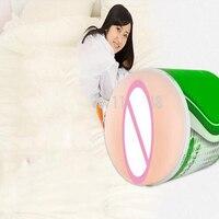 Электрический секс-игрушки для мужчин мужской мастурбации, искусственная вагина вибратор, киска, японская девушка Вагина Настоящее киска, ...