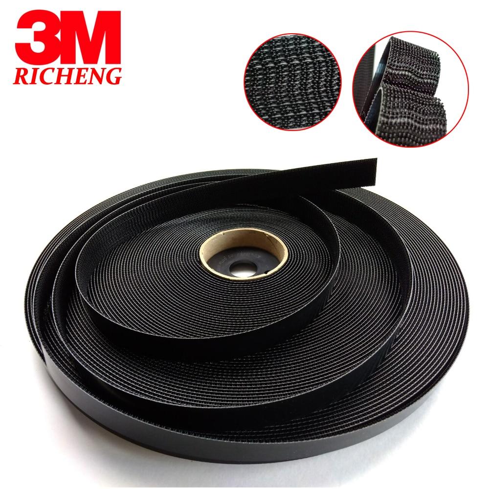 Non adhesive 3M Waterproof Hook And Loop Tape SJ3440, size 1in*50yards pannovo g 215 waterproof foam floaty backdoor w 3m adhesive tape for gopro hero 4 3 sj4000