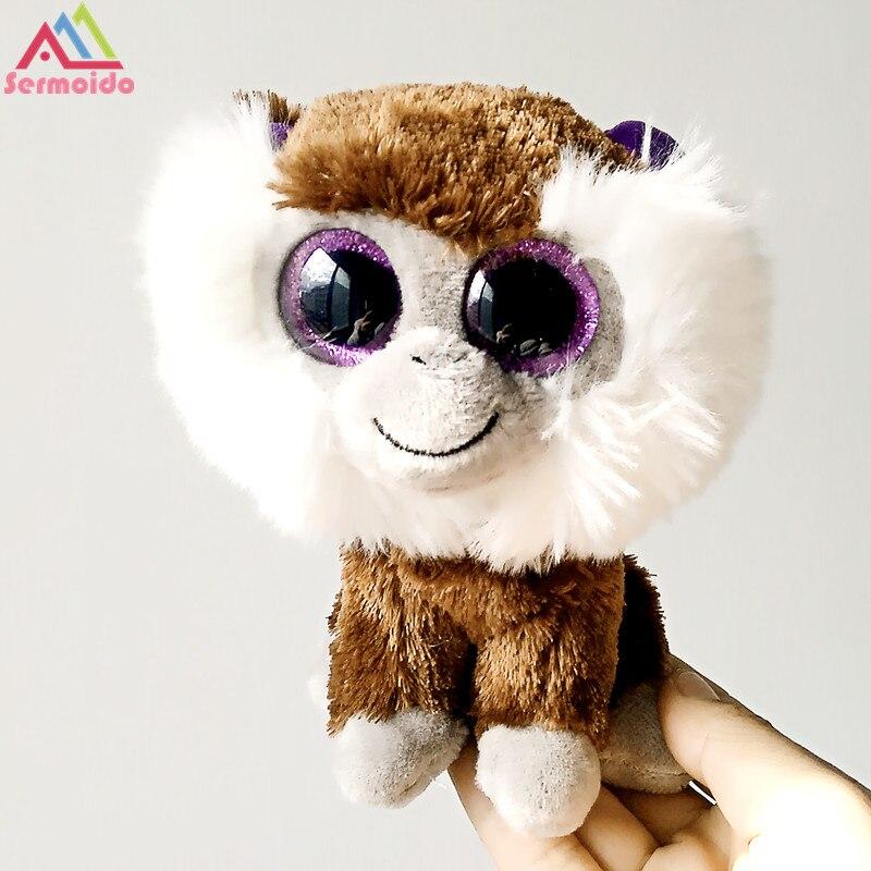 Sermoido TY 6 Beanie Боос Piper Лиса плюшевые шапочка Детские Плюшевые Коллекционная мягкие большие глаза игрушки куклы DBP184