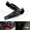 motorcycle rear foot peg aluminum cnc rear passenger footrests For Yamaha TMAX 500 TMAX 530 T-MAX500 T-MAX530 T MAX 500 530