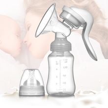 Pregnancy Maternal real bubee and child supplies manual breast pump milking device set milk painless breast pump