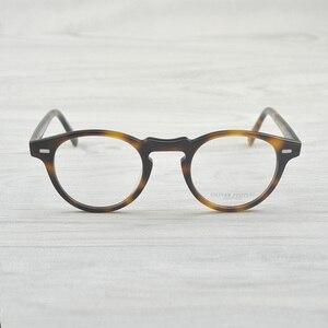 Image 3 - Chashma Vintage Optik Gözlük Çerçevesi Asetat OV5186 Gözlük Oliver okuma gözlüğü Kadınlar ve Erkekler Gözlük Çerçeveleri