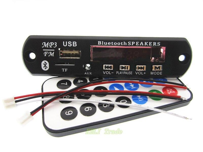 new 1set Bluetooth MP3 Decoding Board Module w SD Card Slot font b USB b font