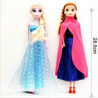 Princesa elsa anna bonecas bebê crianças brinquedos para a menina sharon boneca brinquedos frete grátis