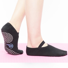 Sports Entertainment - Sportswear  - Yhao Yoga Socks Sport High Quality Quick-Dry Anti-slip Damping Bandage Pilates Ballet Socks Good Grip Men&Women Cotton Socks