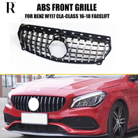 GT Styling ABS Car front grill grille for Benz W117 C117 CLA CLASS Cla180 Cla200 Cla250 Cla45 2013 2019 ( No Star Logo )