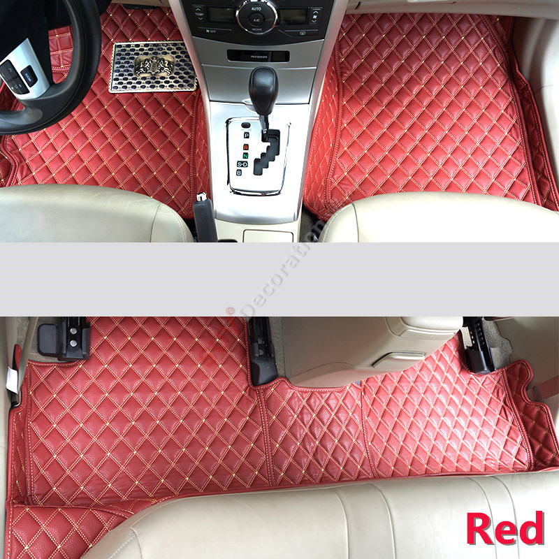 For Audi A4 B8 2008 -2015  Accessories Interior Leather Carpets Cover Car Foot Mat Floor Pad 1set for kia rio5 new pride 2005 2011 accessories interior leather carpets cover car foot mat floor pad 1set