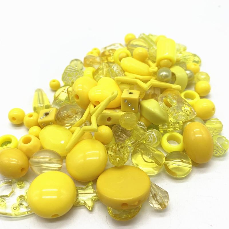Новинка 20 г акриловые бусины смешанные бусины стиль для DIY ювелирные изделия браслеты ручной работы изготовление аксессуаров - Цвет: 21
