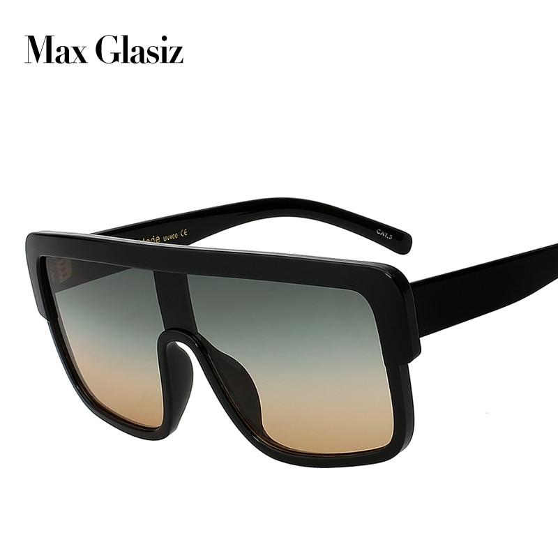 5b3d6e0d830 Max glasiz New Square Brand Designer Sunglasses Women Gradient Lense High  Quality Sun Glasses For Men Oversized Eyewear