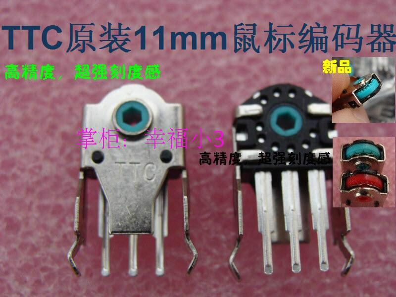 1 шт. оригинальный TTC кодер мыши декодер мыши для Abyssus A4tech и Rapoo 11 мм зеленый core