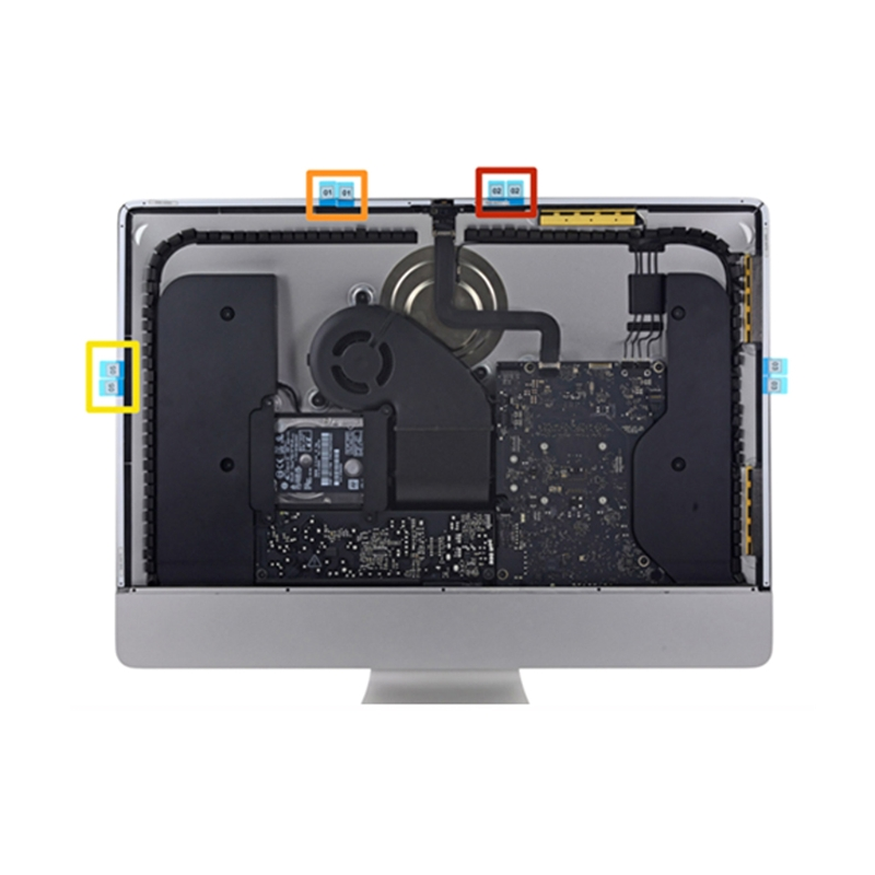 Computer Cables A1418 A1419 LCD Screen Adhesive Strip for iMac LCD Display Adhesive Sticker Tape Cable Length Other