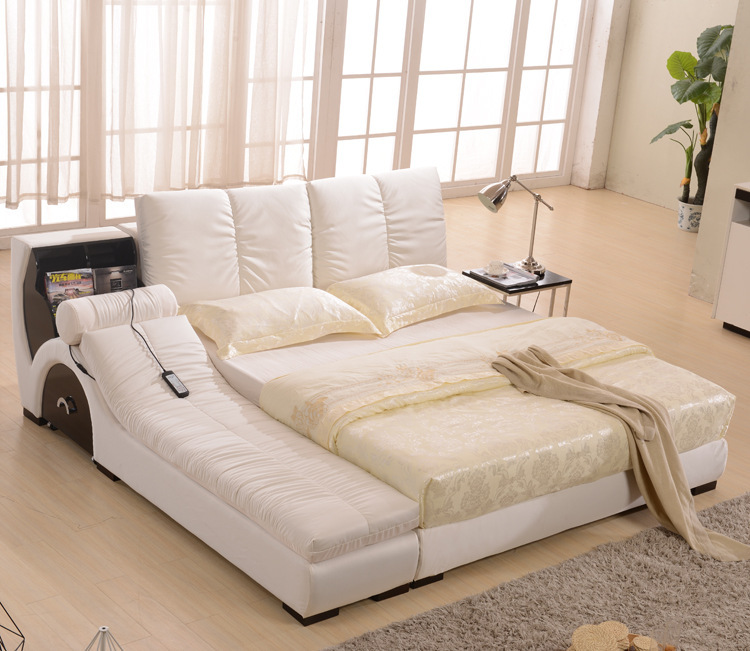 Us 28500 Electric Bed Tatami Massage Soft Bed Multifunctional Bed 18 M Double Fabric Cloth Bed Washable في Electric Bed Tatami Massage