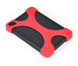 2,5 Portable Externe Festplatte Tasche Tragen Fall Abdeckung Silicon Gummi Fall für WD, sony 2,5 Zoll Tragbare Festplatten HDD